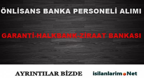 Önlisans Mezunu Banka Personeli Alımı 2015