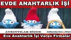 İzmir Evde Anahtarlık İşi Yapmak 2015 ve Para Kazanmak