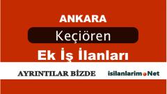 Ankara Keçiören Evde Ek İş İlanları 2015