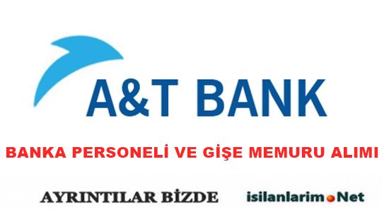 A&T (Arap Türk Bankası) Personel ve Eleman Alımı 2015