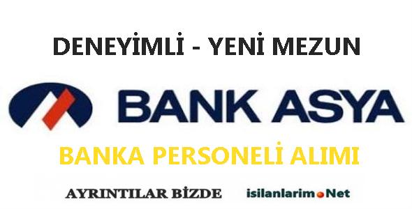 Bank Asya 2015 Gişe Personeli Alımı ve İş İlanları