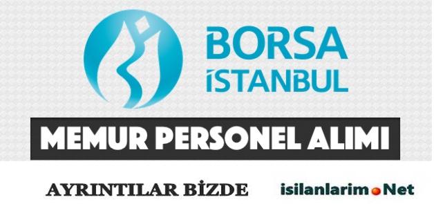 Borsa İstanbul 2015 Memur ve Personel Alımı