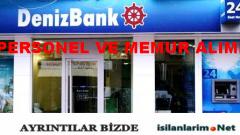 Denizbank 2015 Banka Personeli ve Memuru Alımı