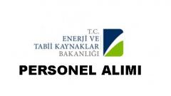 Enerji ve Tabii Kaynaklar Bakanlığı Uzman Yardımcısı Alımı