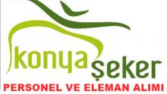 Konya Şeker Fabrikası İş İlanları 2015 ve Personel Alımı