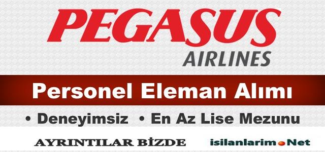 Pegasus 2015 Kabin Memuru ve Personel Alımı