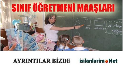 2015 Sınıf Öğretmeni Maaşları Ne Kadar