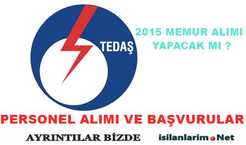 TEDAŞ 2015 Personel ve İşçi Alımı Yapacak Mı