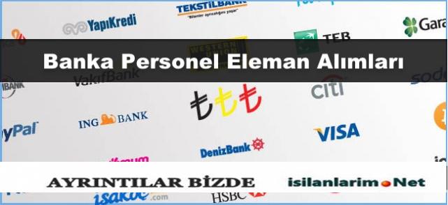 2015 Yılında Hangi Bankalar Personel Alacak