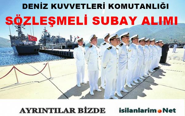 Deniz Kuvvetleri Komutanlığı 2015 Sözleşmeli Subay Alımı