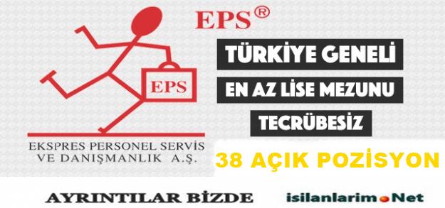 EPS – Ekspres Personel Servis ve Danışmanlık Personel Alımı 2015