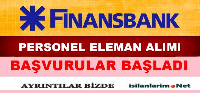 Finansbank 2015 Personel ve Eleman Alımı
