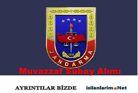 Jandarma Genel Komutanlığı Muvazzaf Subay Alımı 2015
