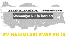 Osmaniye Evde Ek İş İmkanları ve İş Veren Firmalar