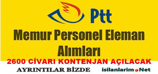 PTT 2015 Memur ve Personel Alımı Başvurular Ne Zaman