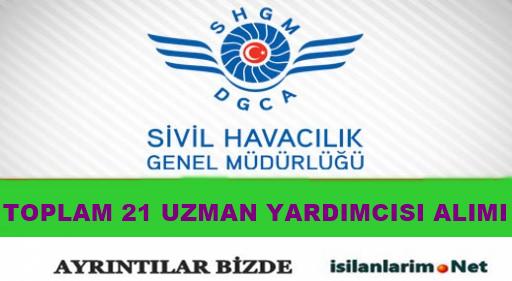 2015 Yılı Sivil Havacılık Uzman Yardımcısı Alımı ve Başvurular