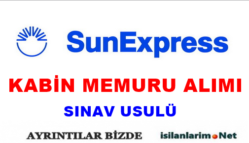 Sunexpress Hostes Kabin Memuru Alımı 2015