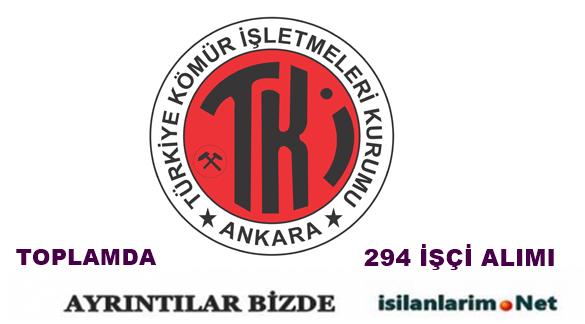 Türkiye Kömür İşletmeleri Kurumu 2015 Sürekli İşçi Alımı