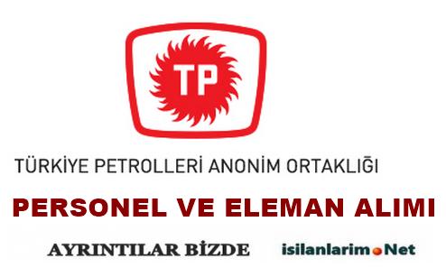 Türkiye Petrolleri 2015 Personel ve Eleman Alımı