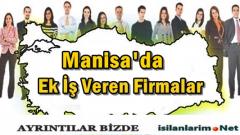 Manisa Evde Ek İş İlanları 2015 ve İş Veren Firmalar