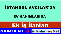 İstanbul Avcılar Evde Ek İş İlanları ve Evlere İş Veren Firmalar