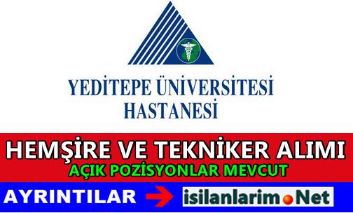 İstanbul Yeditepe Üniversite Hastanesi İş İlanları 2015