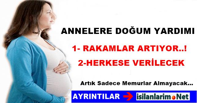 Doğum Yardımı Ne Kadar ve Kimlere Veriliyor
