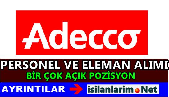 Adecco İş İlanları ve Personel Alımı Başvurusu 2015
