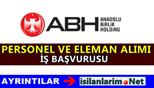 Anadolu Birlik Holding Personel Alımı İş Başvurusu