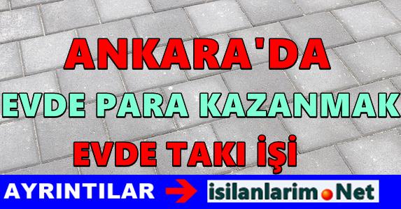 Ankara da Ev Hanımları Takı İşi 2015