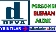Deva Holding Personel ve Eleman Alımı Başvuruları