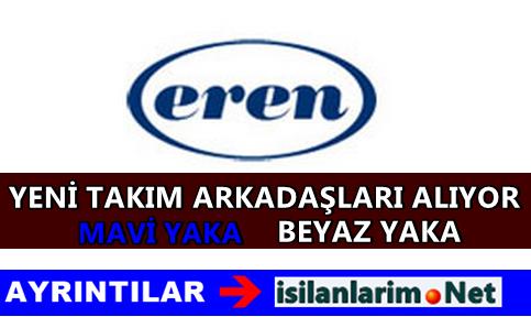 Eren Holding Personel ve Eleman Alımı 2015
