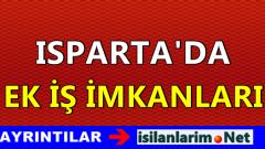 Isparta Ev Hanımlarına Ek İş İmkanları 2015