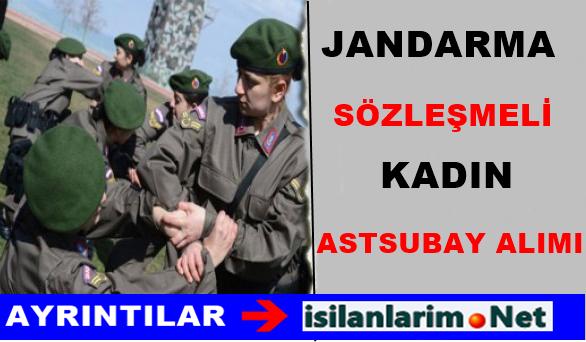 Jandarma Genel Kom.Sözleşmeli Kadın Astsubay Alımı 2015