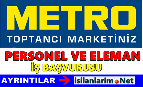 Metro Market Personel ve Eleman Alımı 2015
