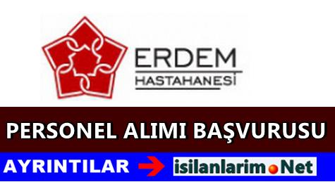 İstanbul Özel Erdem Hastanesi İş İlanları 2015