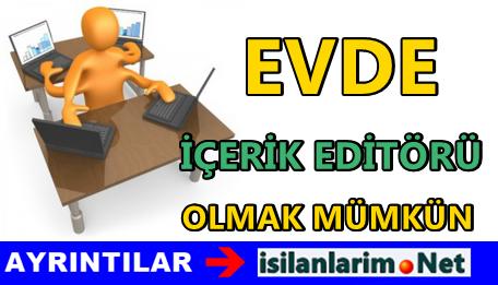 İçerik Editörü
