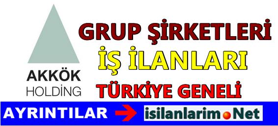 Akkök Holding Personel ve Eleman Alımı 2015