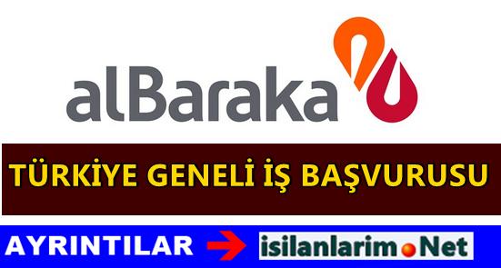 Albaraka Türk Türkiye Geneli İş Başvurusu 2015