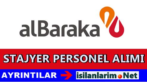 Albaraka Türk Stajyer Banka Personeli Alımı 2015