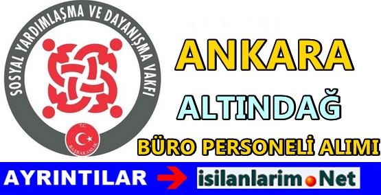 Ankara Altındağ SYDV Personel Alımı 2015
