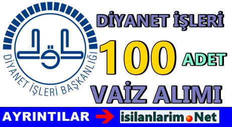 Diyanet İşleri 100 Vaiz Alımı Başvurusu 2015