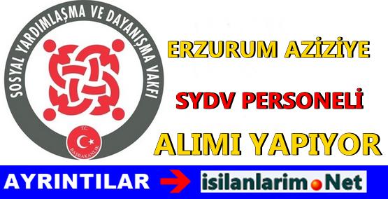 Erzurum Aziziye SYDV Elemanı Alımı Başvurusu 2015
