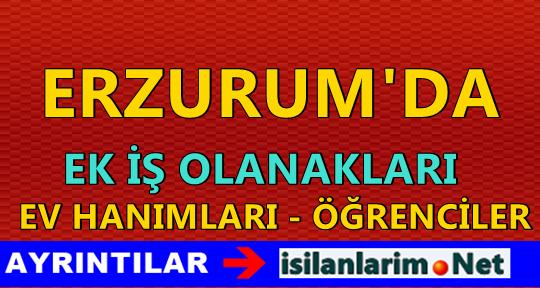 Erzurum Evde Ek İş İmkanları Nelerdir