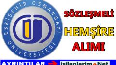 2015 Osmangazi Üniversitesi Sözleşmeli Hemşire Alımı
