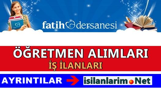 İstanbul Fatih Dershaneleri İş İlanları 2015 Başvurular