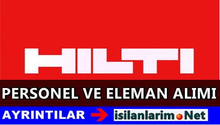 HİLTİ Türkiye Personel ve Eleman Alımı 2015