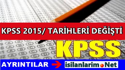 KPSS 2015/1 Ataması Haziran Ayına Alındı