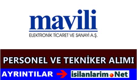 Mavili Elektronik Tekniker ve Teknisyen Alımı 2015