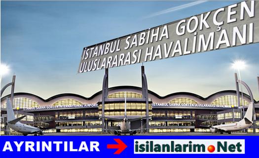 İstanbul Sabiha Gökçen Havalimanı İş İlanları